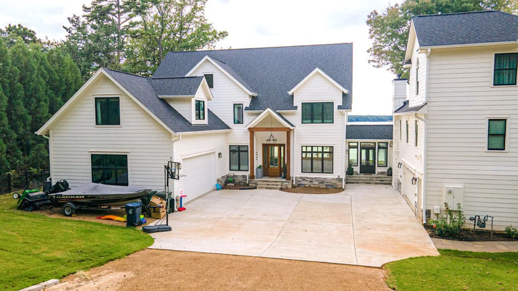 Lake House exterior front