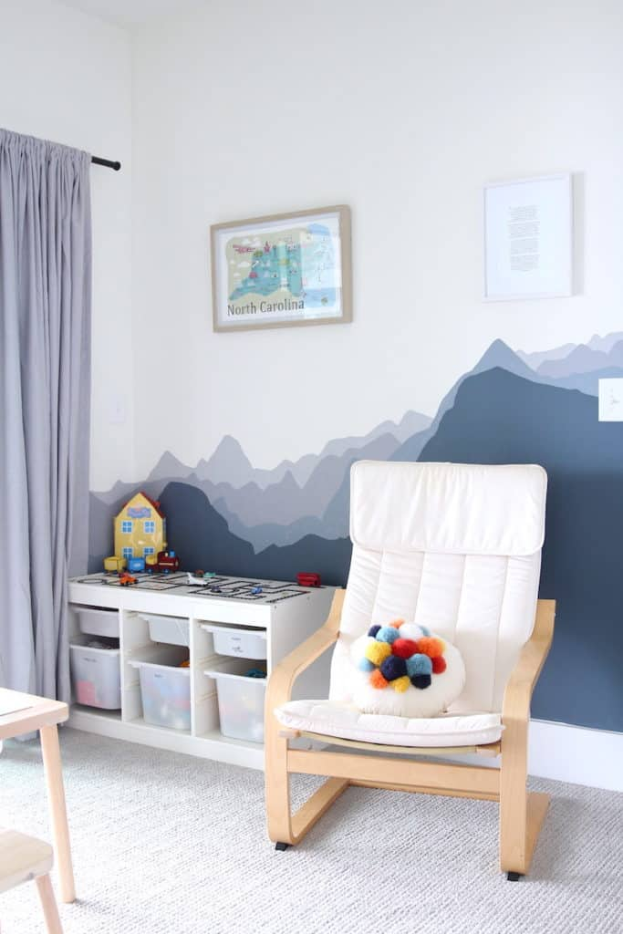 Home of the Month: A Laid Back Lake House baby room 2