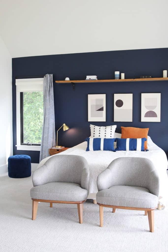 Bold Master Bedroom