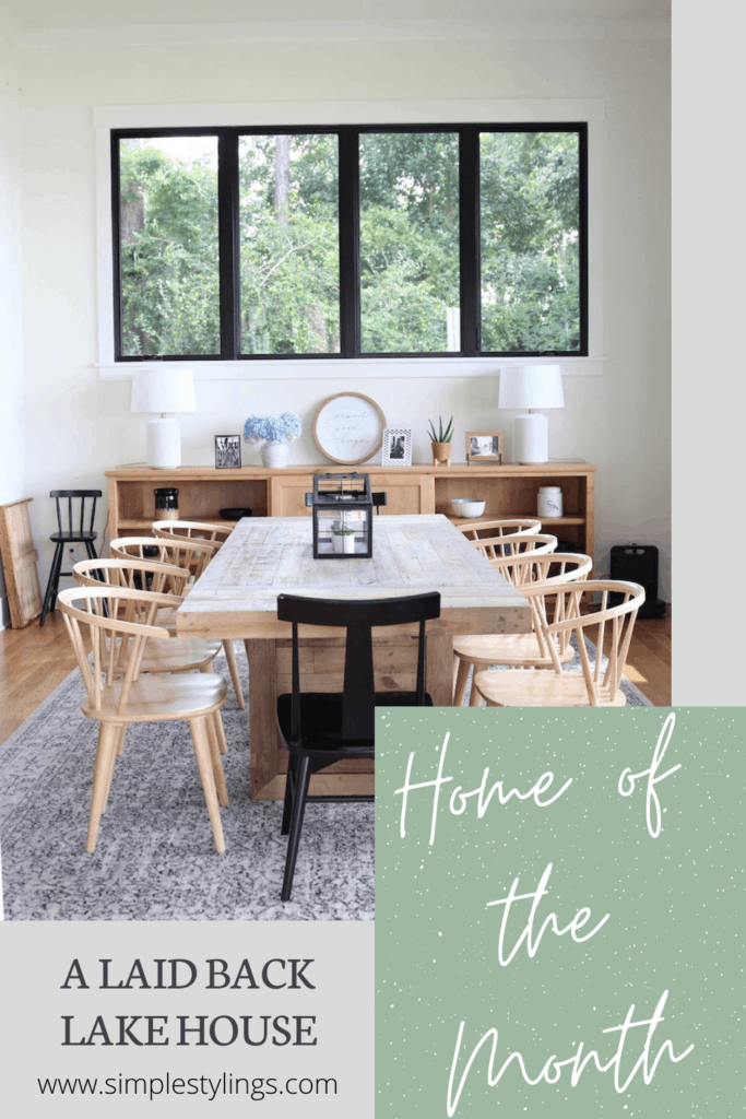 Home of the Month: A Laid Back Lake House pin