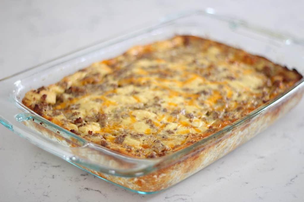 Mom's Breakfast Casserole Recipe Everyone Will Love