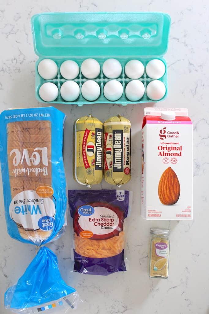 breakfast casserole ingredients