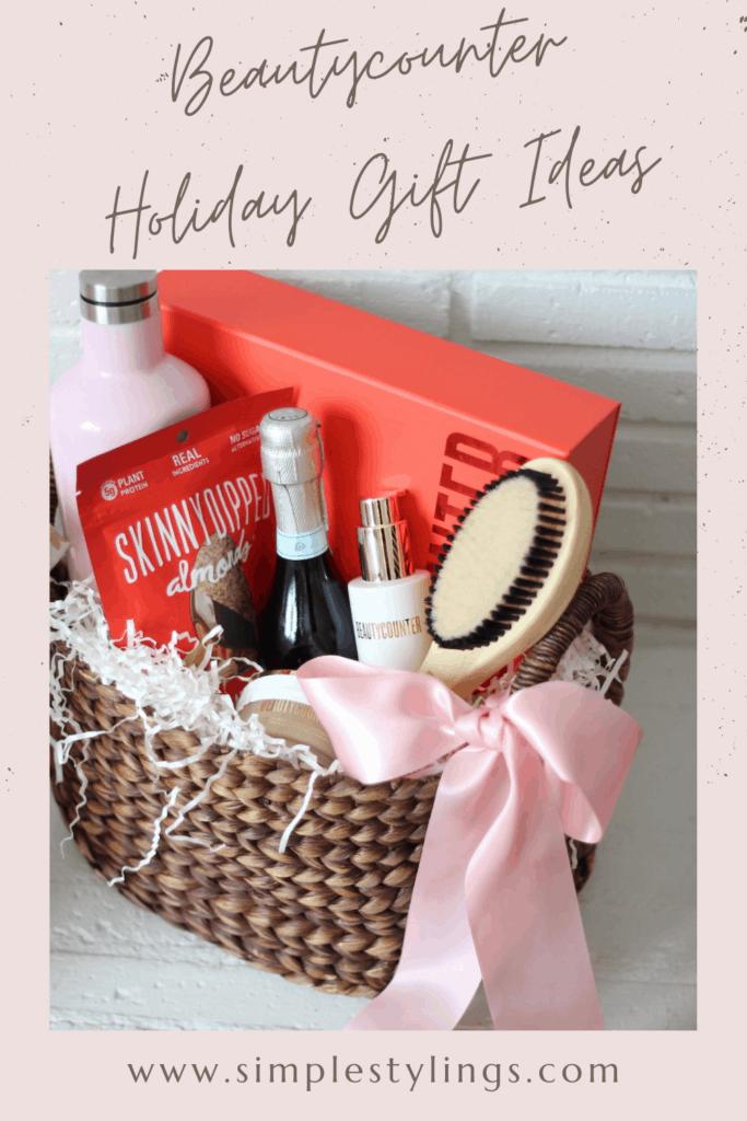 beautycounter holiday gift ideas pin