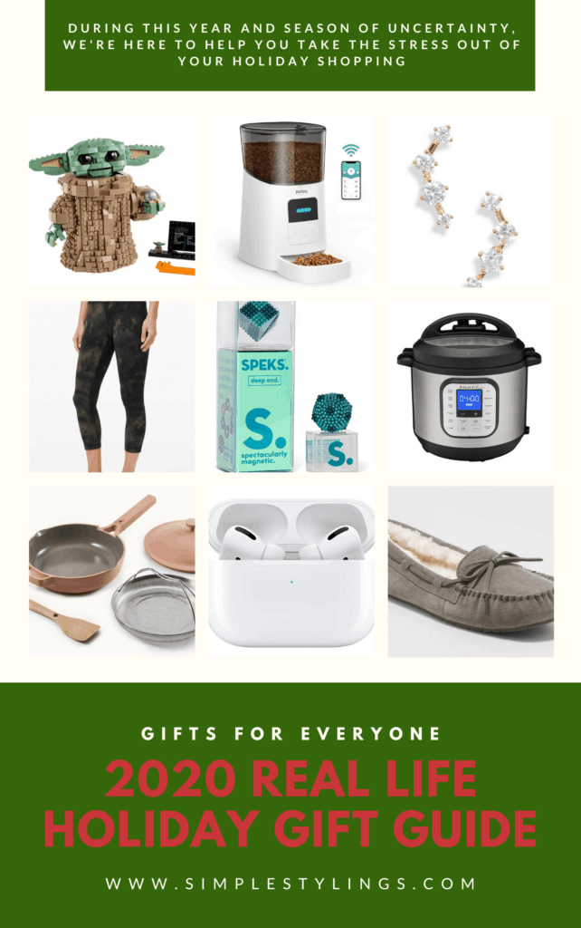 2020 holiday gift guide pin