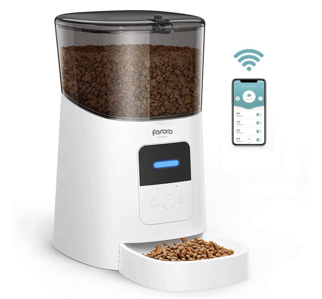 smart pet feeder gift idea