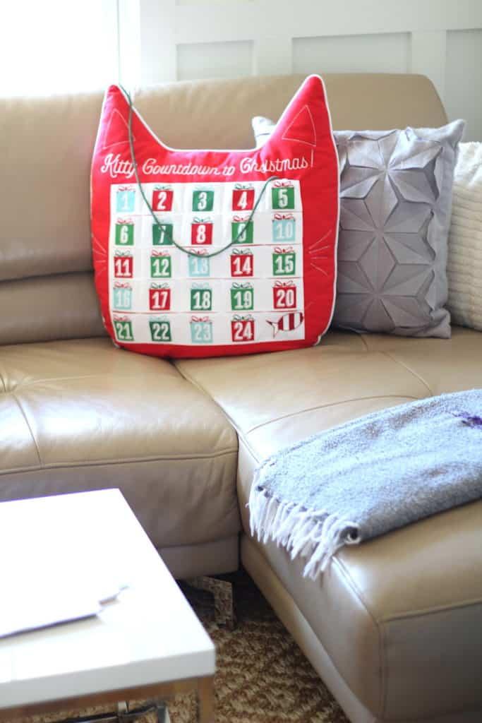 Christmas Home Tour advent calendar