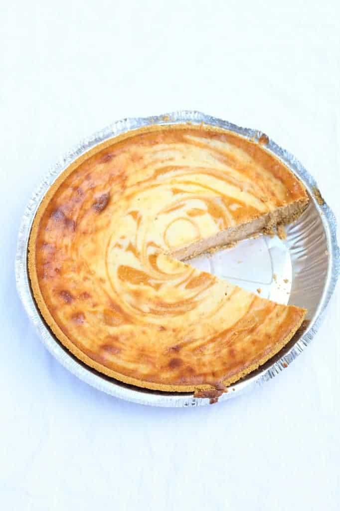 easy pumpkin whole cheesecake